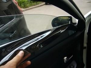 Съёмная тонировка на легковых автомобилях